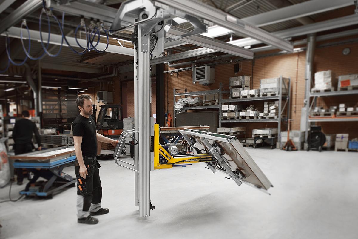 Movomechs ergonomiska lyfthjälpmedel ökar effektiviteten och flexibiliteten i produktionen