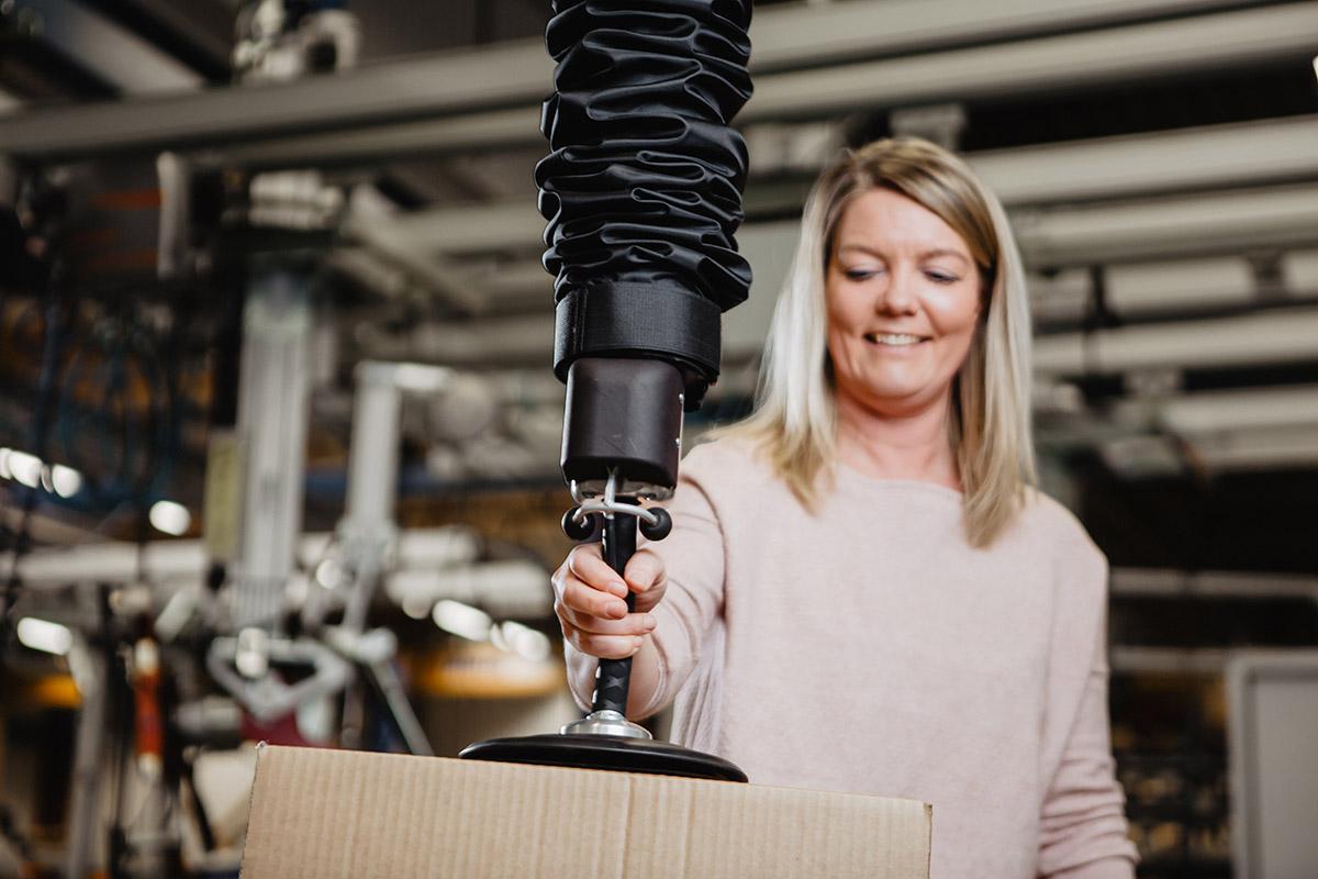 Easycrane Pro - Movomech vacuum lifter vakuumlyft - tublyft - ergonomic material handling