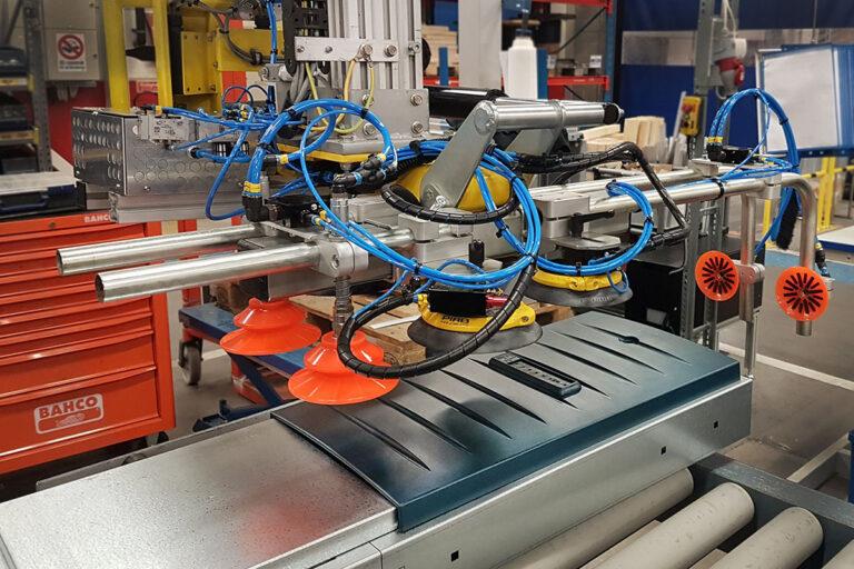 Elektriskt pneumatiskt lyftverktyg från Movomech