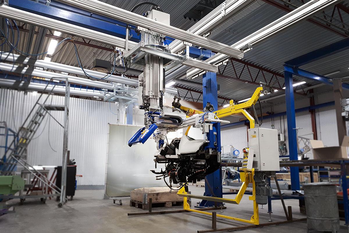 Elektriska och pneu-elektriska lyftverktyg från Movomech