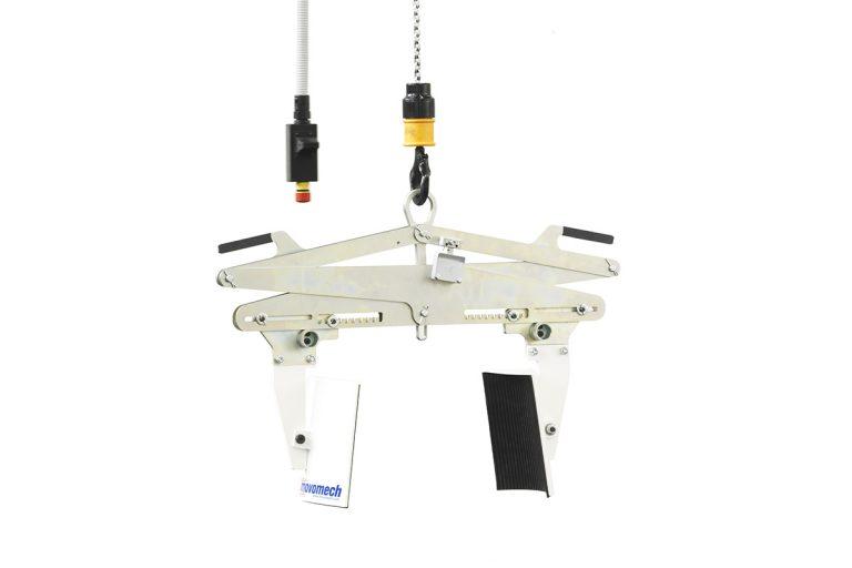 Mekaniskt klämverktyg för rullar