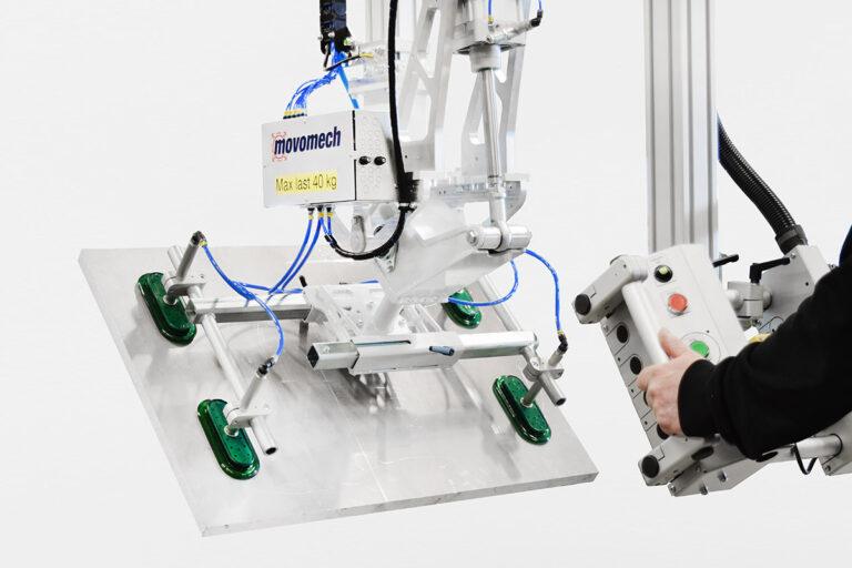 Lyftverktyg med sugkoppar / vakuumok - från Movomech