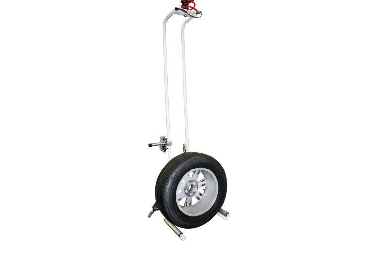 Hjullyftverktyg, däcklyft, för hjulhantering