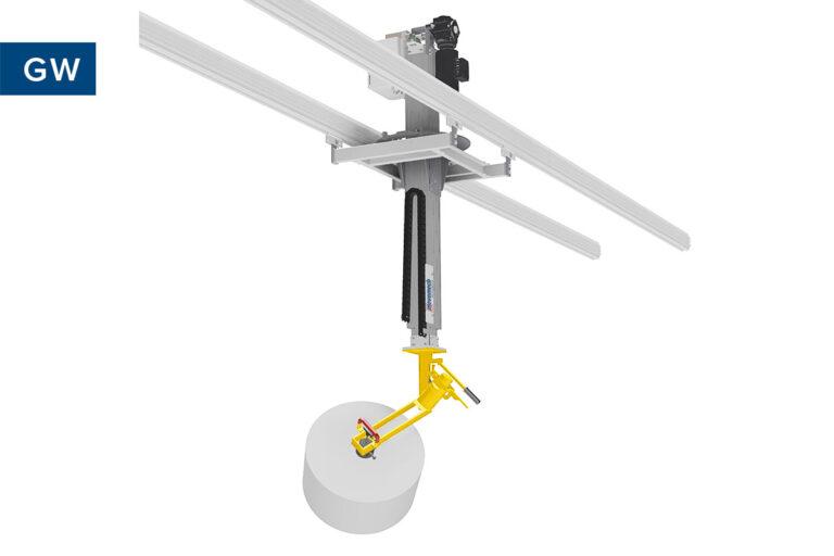 Rullyft - rullhantering - lyftverktyg för rullar - Movomech