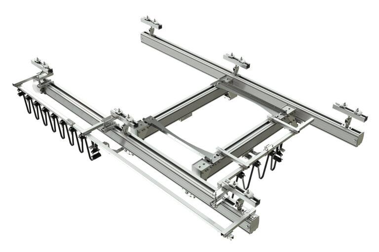 Lättraverssystem i aluminium Mechrail från Movomech