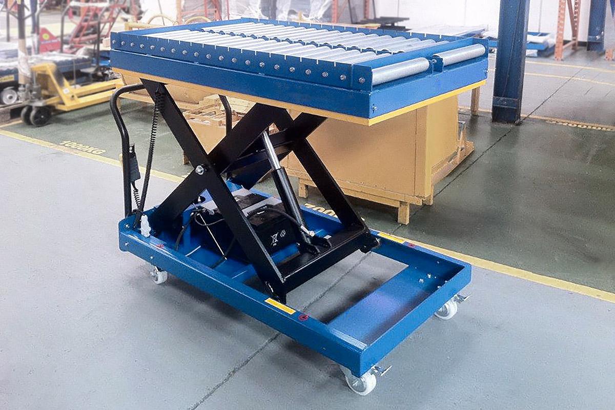 Mobilt lyftbord för smidig materialhantering