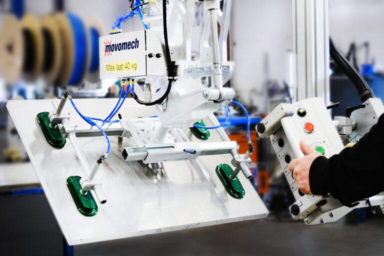 Skivhantering och skivlyft, ergonomiska lyfthjälpmedel från Movomech