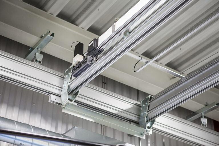 Tillbehör uppbyggnadsmodul för traverssystem Mechrail™