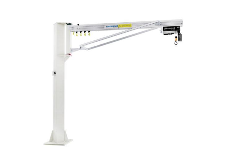 Customized jib crane - specialsvängkran - understagad svängkran - kran Movomech Mechrane