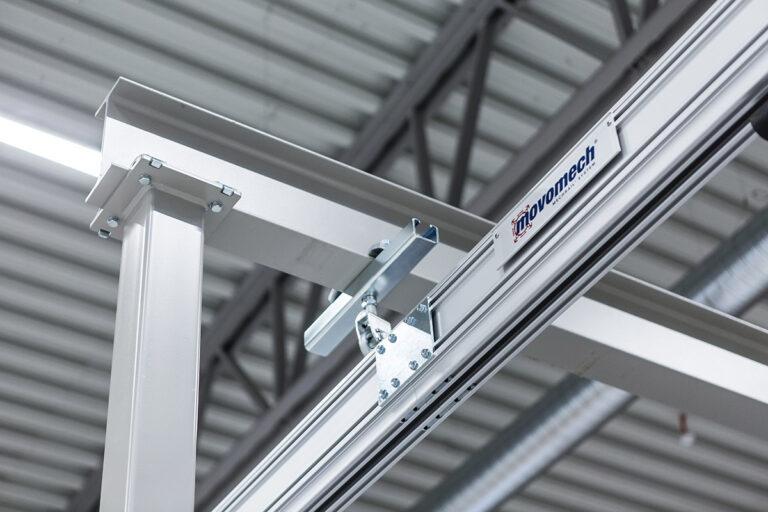Traverssystem - lättraverssystem - kransystem - skensystem - Mechrail™ från Movomech