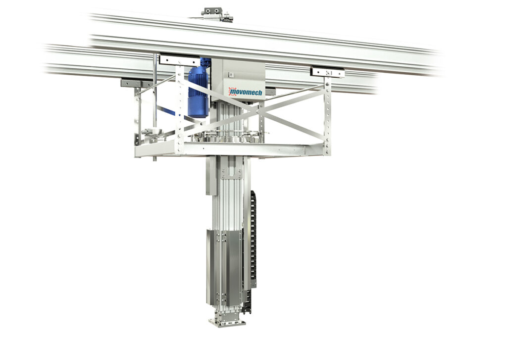 Elektrisk lyftmanipulator Mechlift Pro™ Movomech - pelarlyft - lyftdon - lyfthjälpmedel -