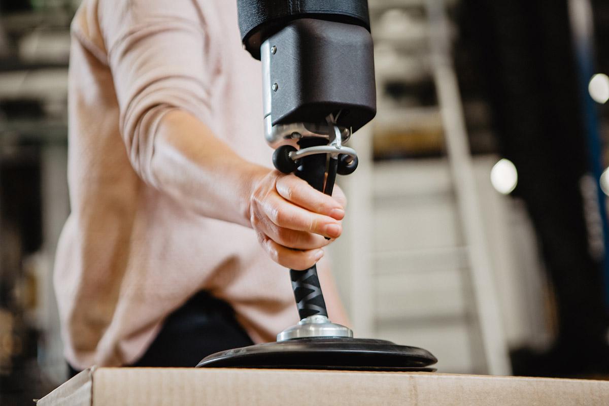 Vakuumlyft - Easyhand Pro Movomech - vacuumlyftare - vakuumlyft - tublyft - kartonglyft